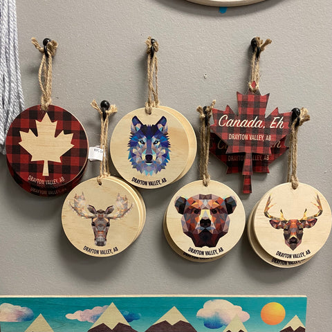 RPC-4 Drayton Valley Ornaments (Assorted)
