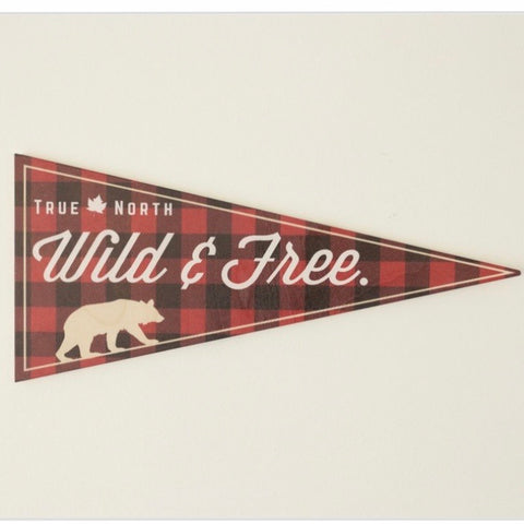 RPC-10 Wild & Free Bear Banner Sign