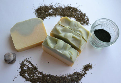LSW-02 Lemongrass Mint Bar Soap