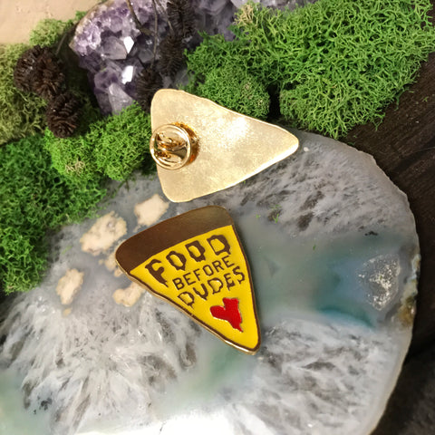 RSH-16 Enamel Pins- Food Before Dudes