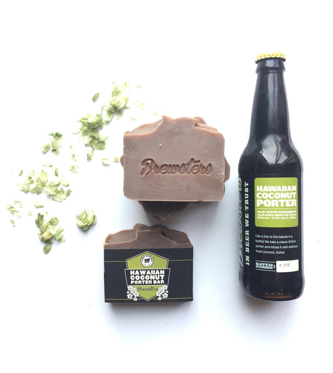 LSW-31 Hawaiian Coconut Porter Soap Bar