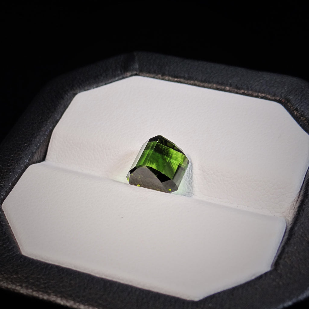 Natural Green Tourmaline - 3.22 ct.