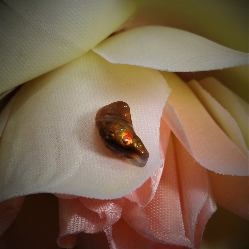 Fire Agate - 3.38 ct.