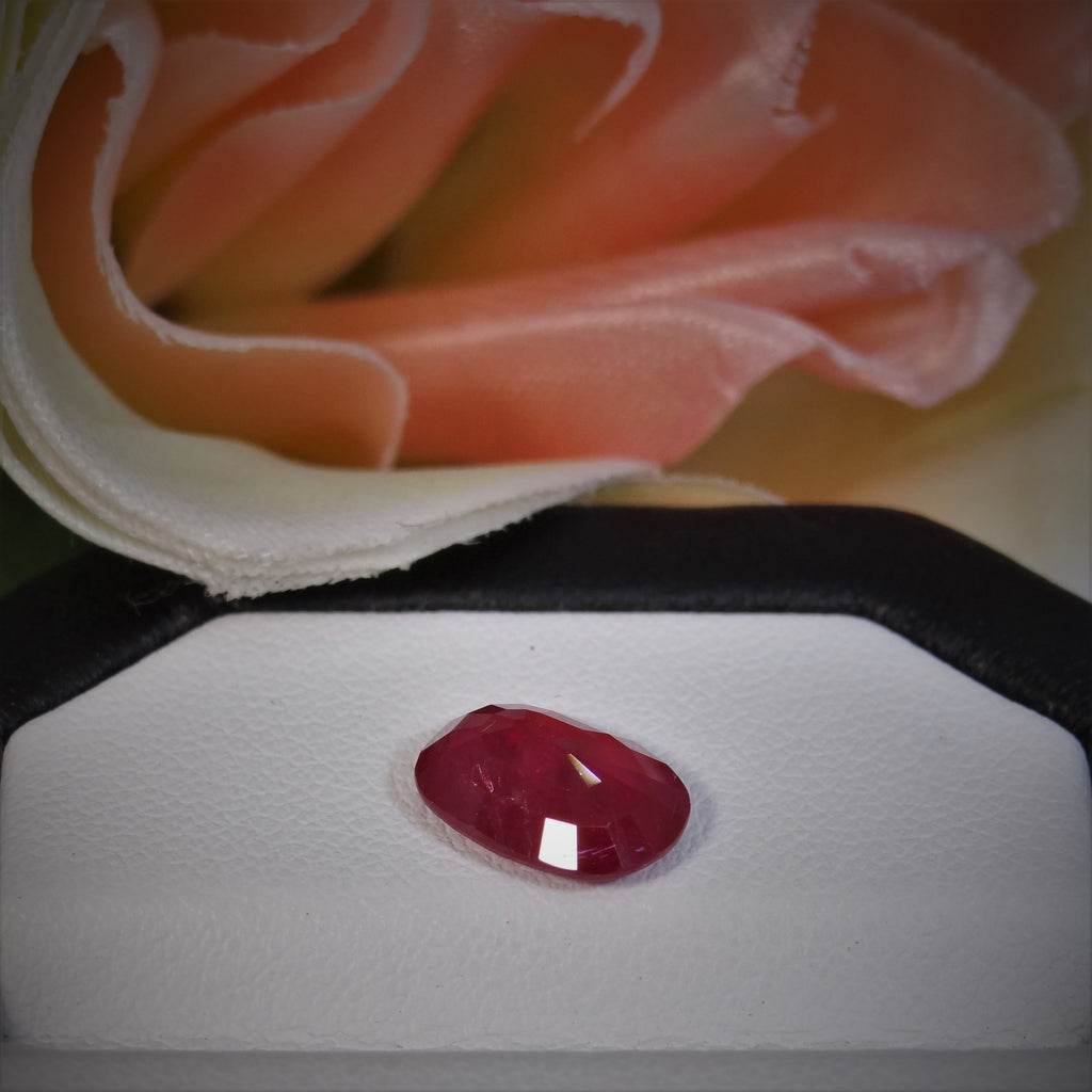 Natural Ruby - 2.75 ct.