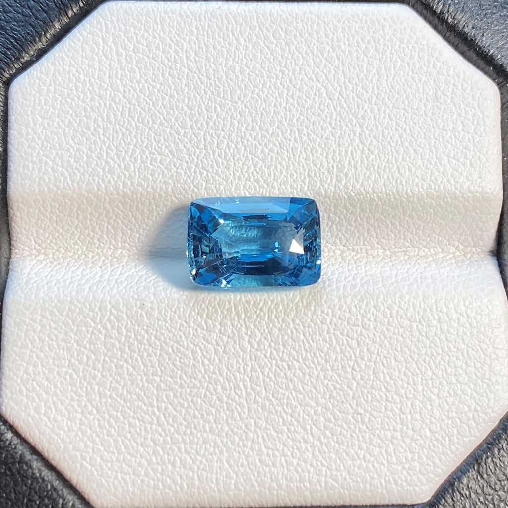 Natural Aquamarine (Santa Maria) - 3.38 ct.