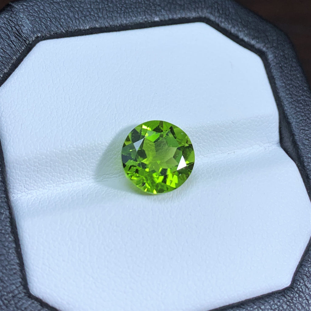 Natural Peridot - 4.37 ct.