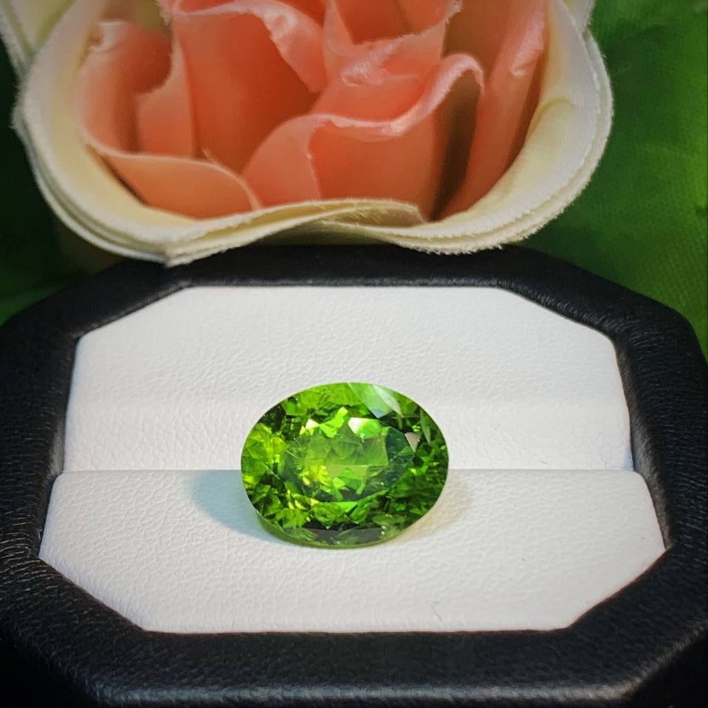 Natural Peridot - 7.02 ct.