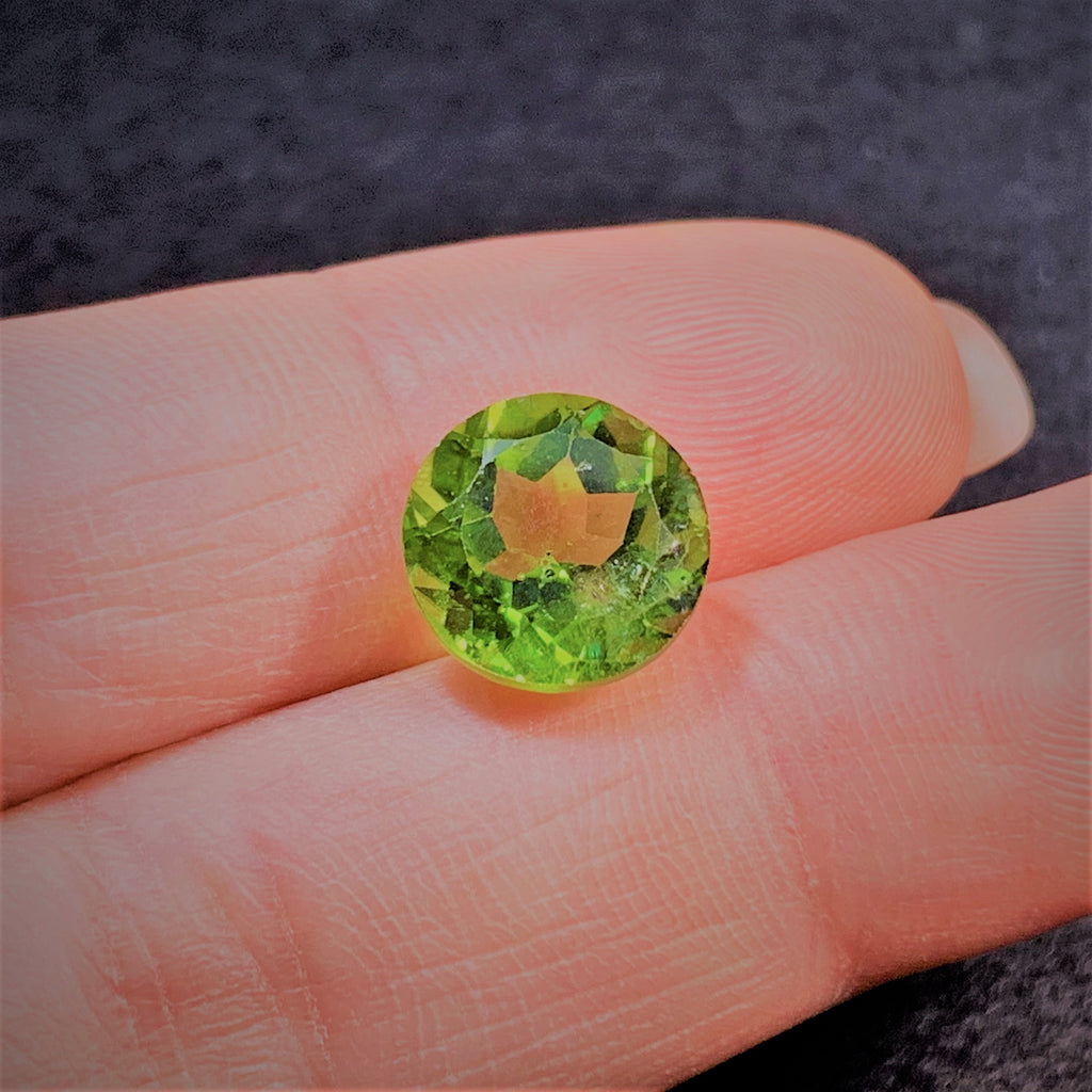 Natural Peridot - 5.54 ct.