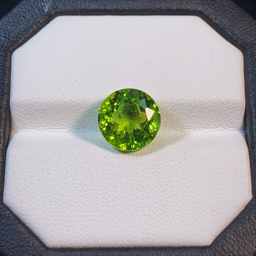 Natural Peridot - 5.11 ct.