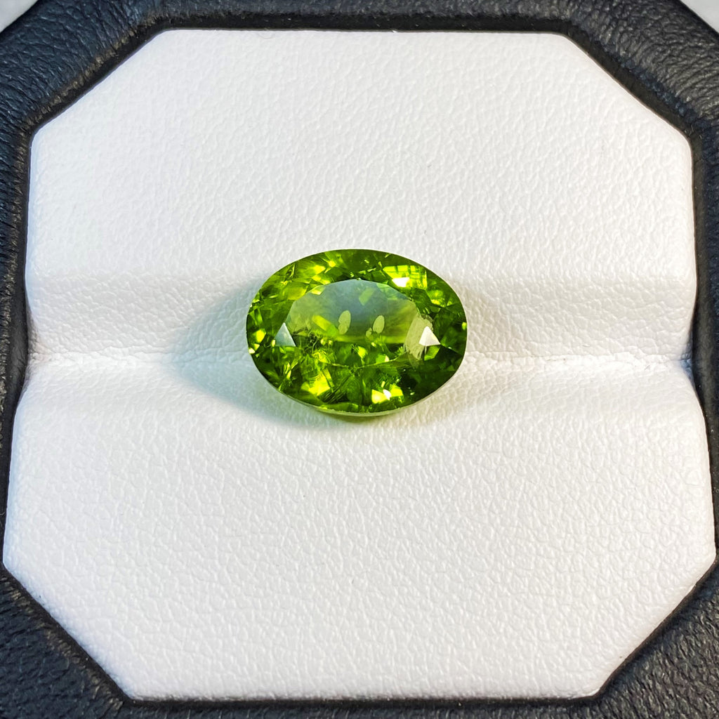 Natural Peridot - 6.76 ct.