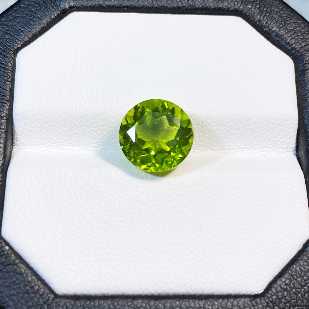 Natural Peridot - 4.96 ct.