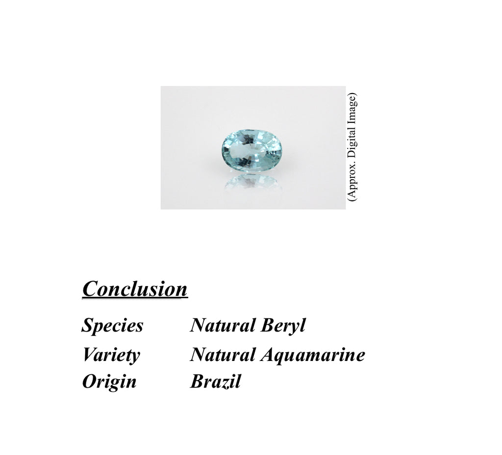 Natural Aquamarine - 11.20 ct.
