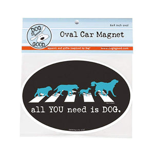 All You Need Is Dog Car Magnet - Canine Compassion Bandanas