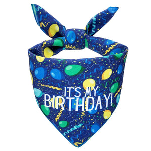 Birthday Fun Dog Bandana (reversible!) - Canine Compassion Bandanas