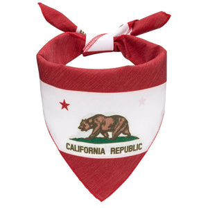 California Flag Dog Bandana - Canine Compassion Bandanas
