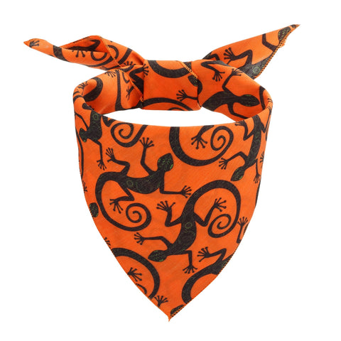 Desert Lizards Dog Bandana - Canine Compassion Bandanas