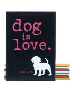 Dog Is Love Fridge Magnet - Canine Compassion Bandanas