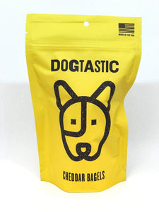 Dogtastic Cheddar Bagel Dog Treats - Canine Compassion Bandanas