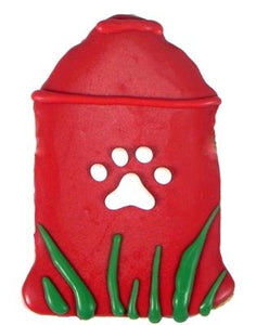 Fire Hydrant Decorated Dog Treat - Canine Compassion Bandanas