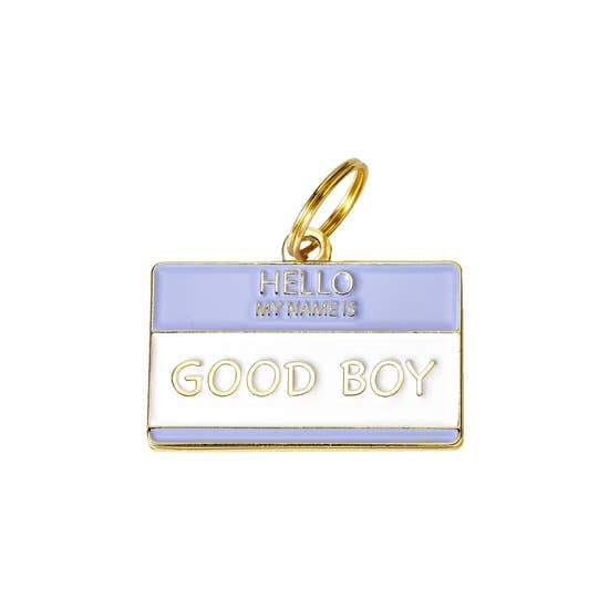 Good Boy Enamel Dog Tag - Canine Compassion Bandanas