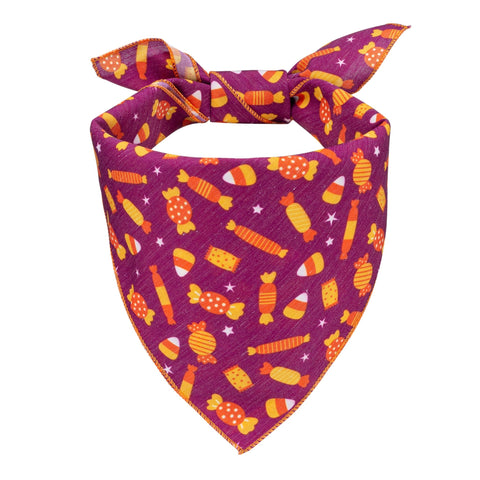 Halloween Candy Dog Bandana - Canine Compassion Bandanas