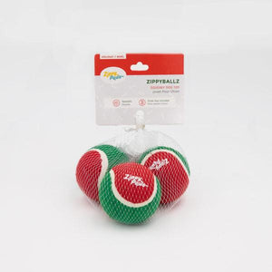 Holiday ZippyBallz (3 Pack) - Canine Compassion Bandanas