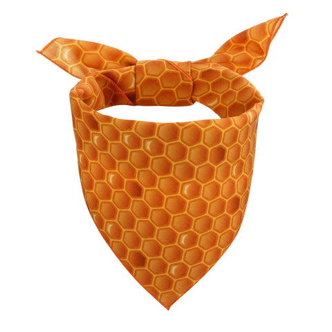 Honeycomb Dog Bandana - Canine Compassion Bandanas