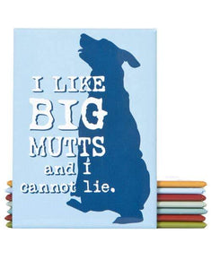 I Like Big Mutts Fridge Magnet - Canine Compassion Bandanas