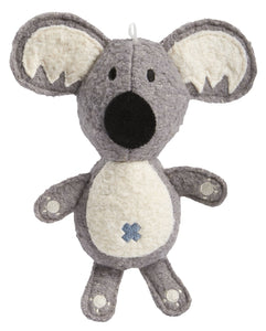 Koala Wool Plush Dog Toy - Canine Compassion Bandanas