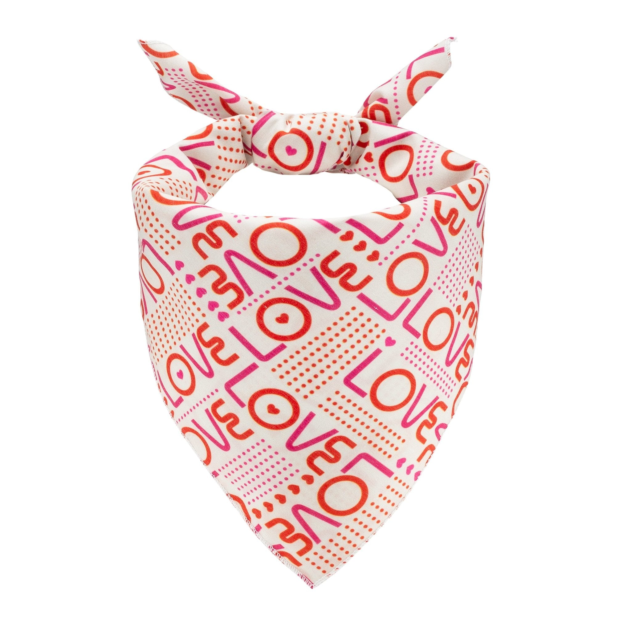 Love Dog Bandana - Canine Compassion Bandanas