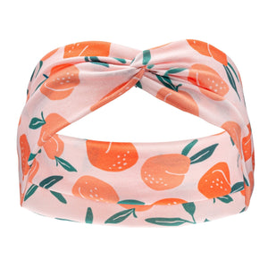 Matching Headband - Peaches - Canine Compassion Bandanas