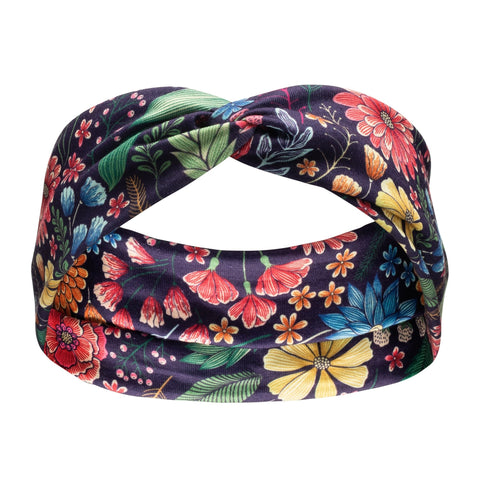 Matching Headband - Sadie Floral - Canine Compassion Bandanas