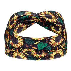 Matching Headband - Sunflowers - Canine Compassion Bandanas