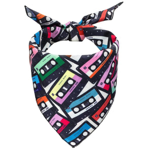 Mixtapes Dog Bandana - Canine Compassion Bandanas