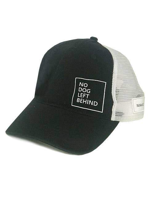 No Dog Left Behind Hat - Canine Compassion Bandanas