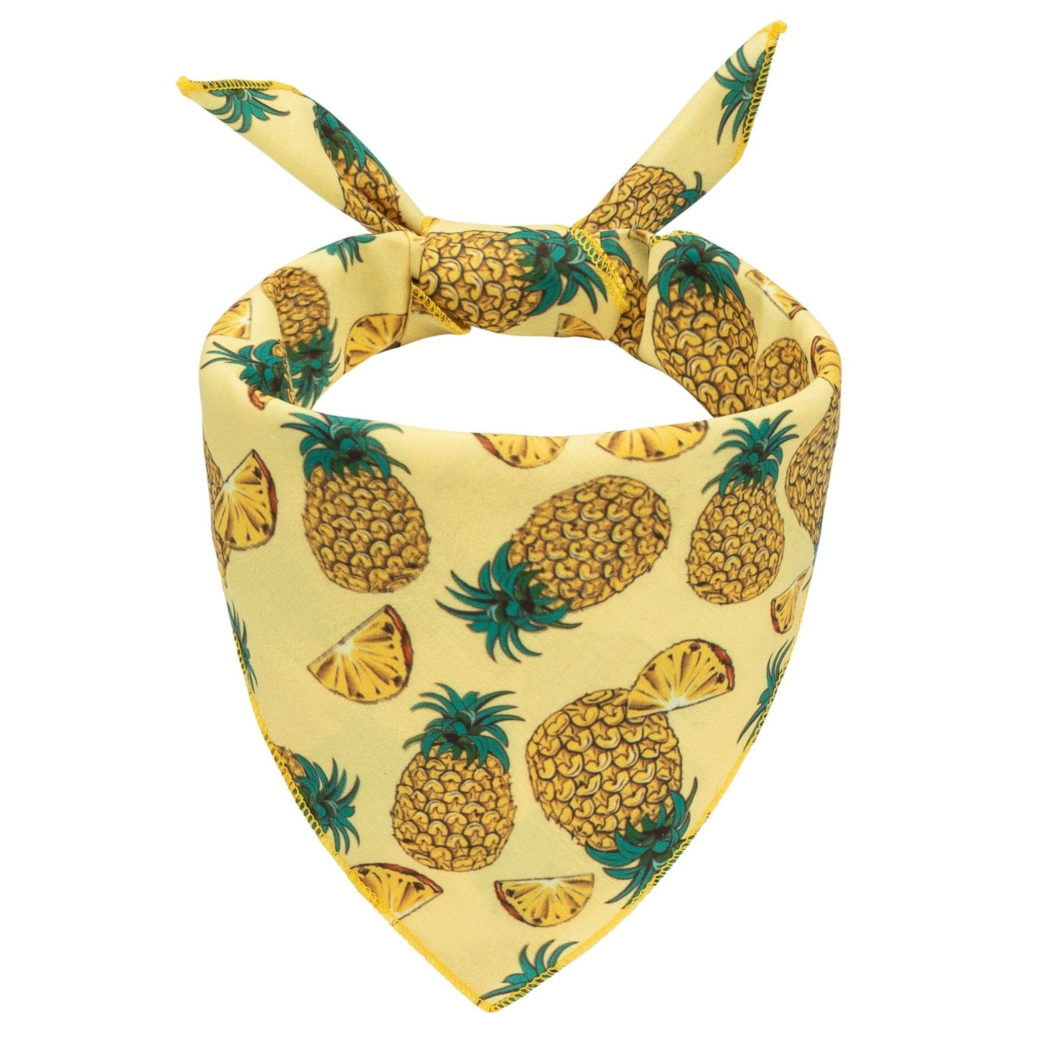 Pineapples Dog Bandana - Canine Compassion Bandanas