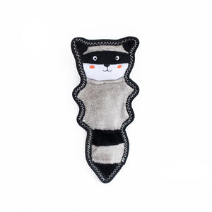 Raccoon No-Stuffing Dog Toy - Canine Compassion Bandanas