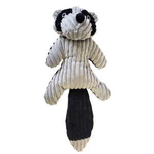 Raccoon Plush Dog Toy - Canine Compassion Bandanas