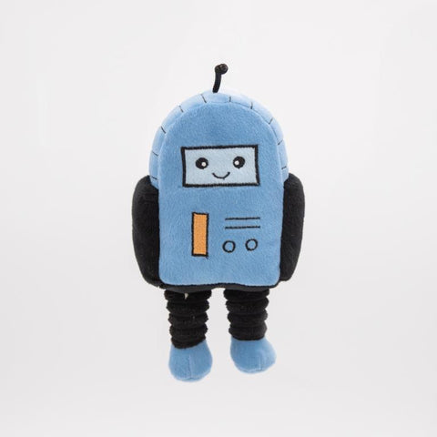 Robot Plush Dog Toy - Canine Compassion Bandanas