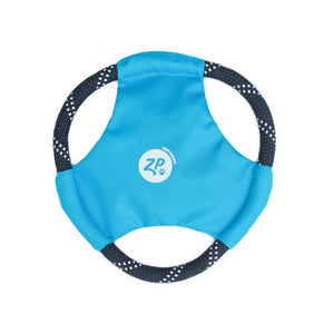 Rope Glider Dog Toy - Blue - Canine Compassion Bandanas