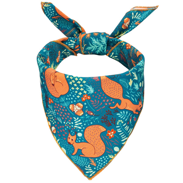 Squirrel Patrol Dog Bandana - Canine Compassion Bandanas