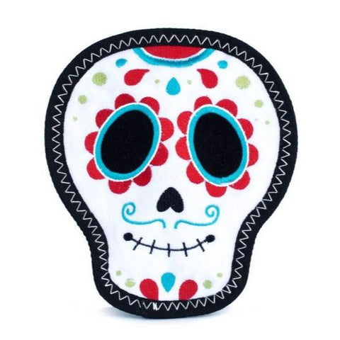 Sugar Skull Dog Toy - Canine Compassion Bandanas