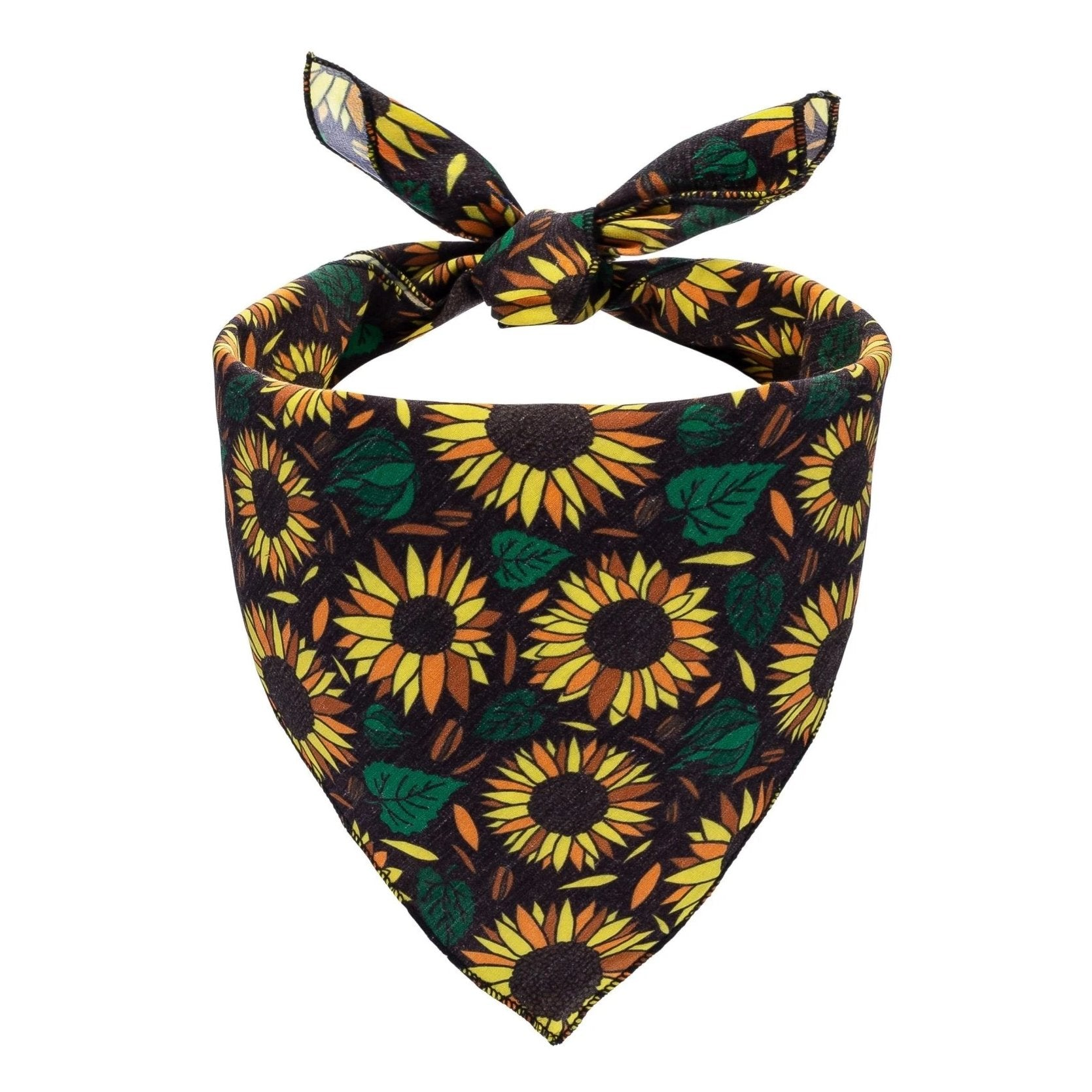 Sunflowers Dog Bandana - Canine Compassion Bandanas