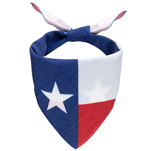 Texas Flag Dog Bandana - Canine Compassion Bandanas