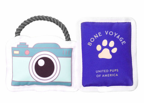 Travel Buddy Dog Toys (Set of 2) - Canine Compassion Bandanas