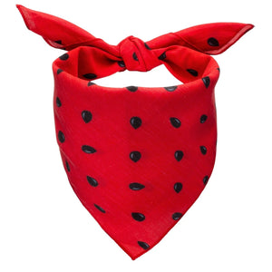 Watermelon Seeds Dog Bandana - Canine Compassion Bandanas