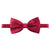 burgundy silk bow te