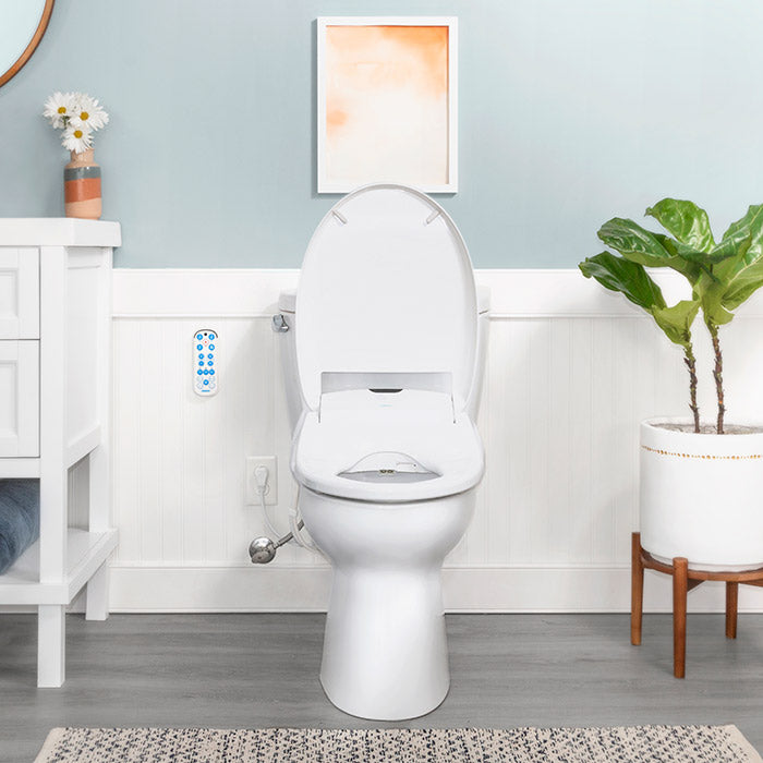 Awe Inspiring Omigo Bidet Heated Toilet Seat Japanese Smart Toilet Ibusinesslaw Wood Chair Design Ideas Ibusinesslaworg