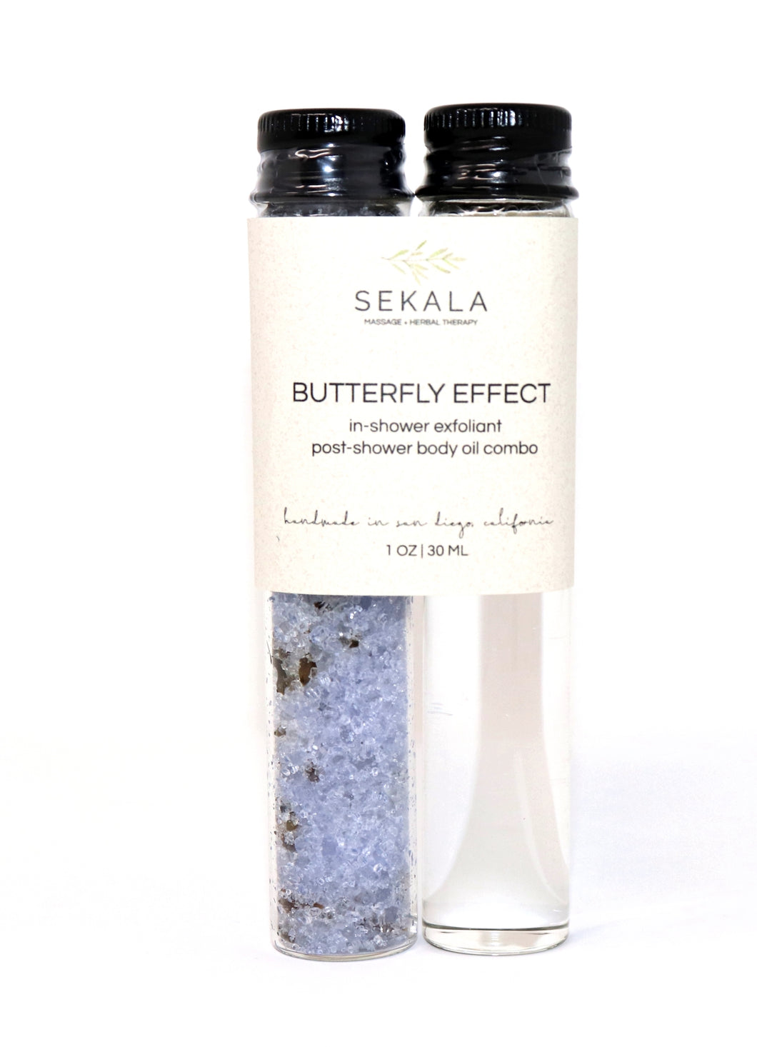 Butterfly + Lavender Body Oil Bath Salt Combo