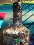 Holographic Crescent Moon Witch Bottle